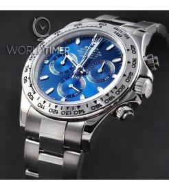 Rolex [NEW][香港行貨] Daytona 116509 White Gold Blue (Retail:HK$292,500)