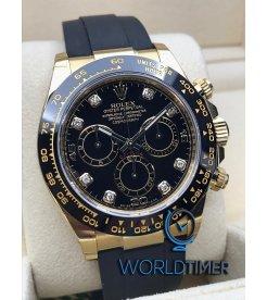 Rolex [NEW] Yellow Gold Daytona 116518LN-0038 G With Diamond Set Watch
