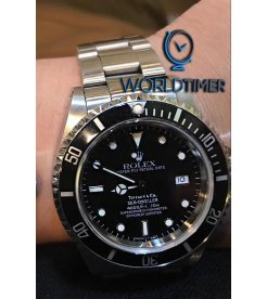 Rolex Tiffany & Co Sea Dweller 16600 Rare Watch - SOLD!!