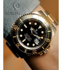 "Rolex [NEW][香港行貨] Sea-Dweller 126603 Two-Tone ""Rolesor"" 43mm (Retail:HK$129,500)"