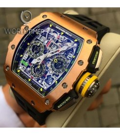 Richard Mille [2019 NEW] RM 11-03 FULL Rose Gold Automatic Flyback Chronograph