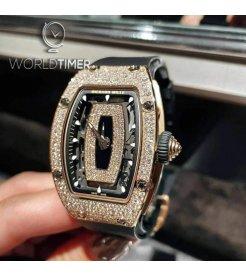 Richard Mille [2020 LIKE NEW] RM 07-01 Rose Gold Snow Diamonds
