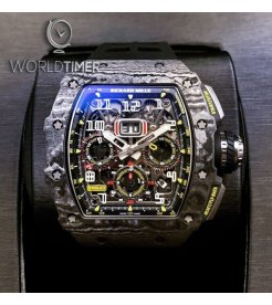 Richard Mille [NEW] RM 11-03 Black Carbon NTPT Flyback Chronograph