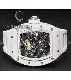 Richard Mille [2017 USED][LIMITED 50 PIECE] RM 38-01 White G-SENSOR Bubba Watson Tourbillon