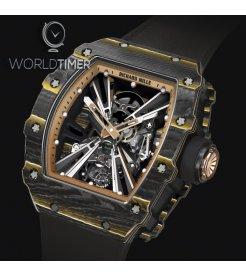 Richard Mille [NEW] Carbon and Gold TPT RM 12-01 Tourbillon
