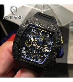 Richard Mille [2016 LIKE NEW][LIMITED 100 PIECE] RM 011 10th Anniversary Felipe Massa