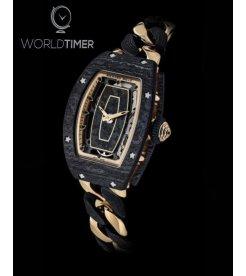 Richard Mille [NEW] RM 07-01 Carbon & Rose Gold Bracelet