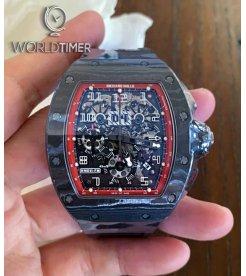 Richard Mille [2016 MINT] RM 011 Black Night NTPT Watch