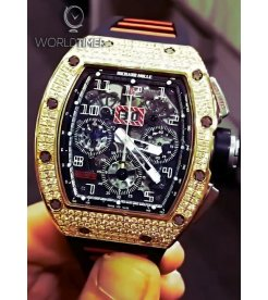 Richard Mille [WATCH ONLY] RM 011 Rose Gold Diamonds