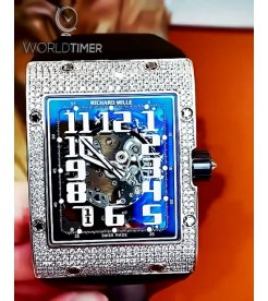 Richard Mille [NEW] RM 016 White Gold Diamonds Automatic Mens Watch