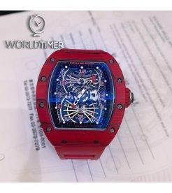 Richard Mille RM 022 Red Tourbillon Aerodyne Dual Time Zone Watch