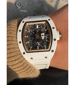 Richard Mille [NEW][LIMITED 5 PIECE] RM 022 Tourbillon Aerodyne Dual Time Zone Watch