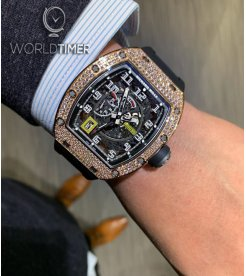 Richard Mille [NEW] RM 030 Rose Gold/Titanium Diamonds Watch