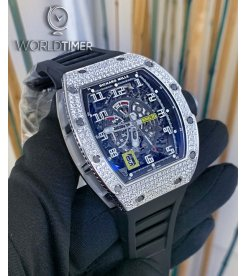 Richard Mille [NEW] RM 030 White Gold/Titanium Diamonds Watch