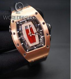 Richard Mille [NEW] RM 037 Rose Gold Ladies Automatic With Date Function