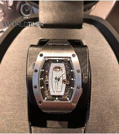 Richard Mille [NEW] RM 037 Titanium Diamond Dial Automatic Ladies