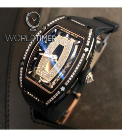 Richard Mille [NEW] RM 07–01 Black Ceramic Gem Set Automatic Ladies Watch