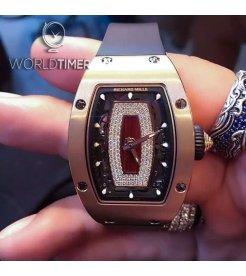 Richard Mille [NEW] RM 07-01 Rose Gold Jasper Dial