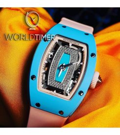 Richard Mille [NEW][LIMITED 30 PIECE] RM 07-01 Blue Ceramic Automatic Ladies Watch