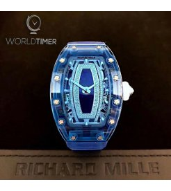 Richard Mille [NEW] RM 07-02 Blue Sapphire Automatic Ladies Watch