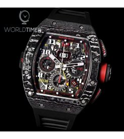 Richard Mille [NEW][LIMITED 30 PIECE] RM 11-02 GMT Flyback Chronograph Dual Time Zone Hong Kong Special Edition