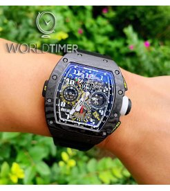 Richard Mille [2015 USED][LIMITED 30 PIECE] RM 11-02 Dual Time Zone Shanghai Edition