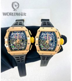 Richard Mille [2017 LIKE NEW] RM 11-03 FULL Rose Gold Automatic Flyback Chronograph