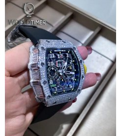 Richard Mille [2020 NEW] RM 11-03 White Gold Full Set Diamonds Watch