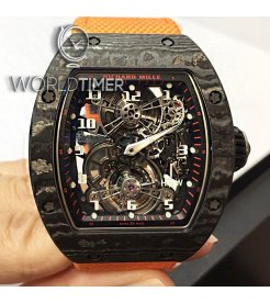 Richard Mille [NEW][LIMITED 10 PIECE] RM 17-01 Black NTPT Tourbillon Watch