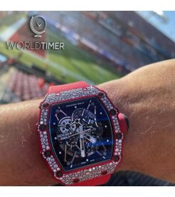 Richard Mille [NEW] RM 35-02 QTPT Snow Diamonds Watch
