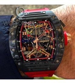 Richard Mille [LIKE NEW][LIMITED 30 PIECE] RM 50-01 G-Sensor Tourbillon Lotus F1 Team Romain Grosjean