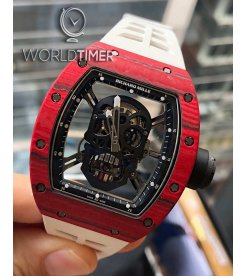 Richard Mille [2018 LIKE-NEW] RM 52-01 Skull Red Quartz TPT Tourbillon