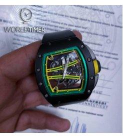 Richard Mille [2017 NEW] RM 61-01 Yohan Blake TZP Black Ceramic Watch