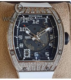 Richard Mille [2009 USED] RM 005 Med Set Diamonds White Gold Mens Watch
