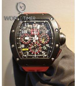 Richard Mille [2014 USED] RM 011 Carbon Flyback Chronograph Felipe Massa