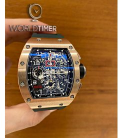 Richard Mille [2011 USED] RM 011 Rose Gold/Titanium Automatic Watch