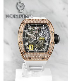 Richard Mille [2019 LIKE NEW] RM 030 Rose Gold Diamonds Mens Watch