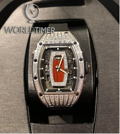 Richard Mille [NEW] RM 037 White Gold Med Set Diamonds Ladies Watch