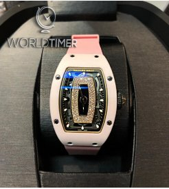 Richard Mille [2018 USED] RM 07-01 Pink Ceramic Automatic Ladies Watch