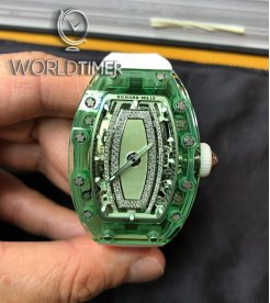 Richard Mille [NEW] RM 07-02 Green Sapphire Automatic Ladies Watch