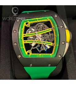 Richard Mille [2019 USED] RM 61-01 Yohan Blake TZP Black Ceramic Watch