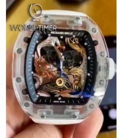 Richard Mille RM 57-01 Phoenix and Dragon Jackie Chan Sapphire Tourbillon
