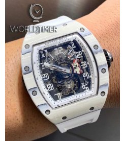 Richard Mille [NEW][LIMITED 5 PIECE] RM 003 Tourbillon Dual Time Zone Mens Watch