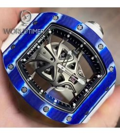 Richard Mille [NEW][LIMITED 18 PIECE] RM 52-06 Mask Blue Carbon Tourbillon