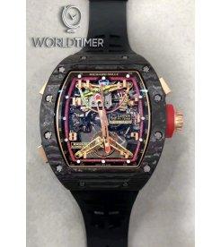 Richard Mille [LIMTIED 30 PIECE] RM 50-01 Tourbillon Chronograph G-SENSOR Lotus F1 Team – Romain Grosjean