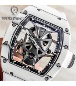 Richard Mille [NEW][LIMITED 18 PIECE] RM 52-06 Mask WhiteTourbillon Watch