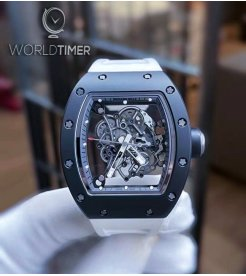 Richard Mille [2015LIKE NEW] Bubba Watson RM 055 White Drive Americas Limited