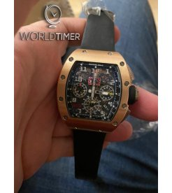 Richard Mille [2009 USED] RM 011 Rose Gold/Titanium Automatic Watch