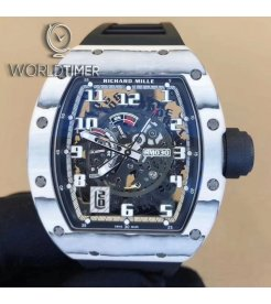 Richard Mille [NEW][LIMITED 40 PIECE] RM 030 Japan Only Edition White TPT Mens Watch