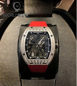Richard Mille [NEW] RM 023 Titanium Med Set Diamonds Mens Watch